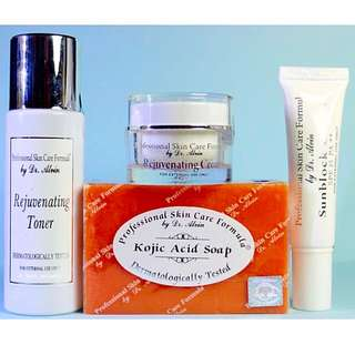 Dr. Alvin Rejuvenating Set from Professional Skin Care Formula 100% Authentic