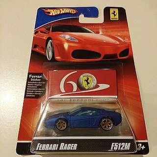 Hot Wheels Ferrari Racer F512M (hotwheels)