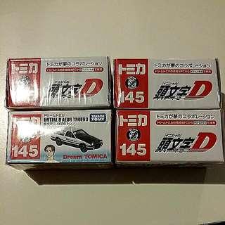 Dream Tomica Initial D AE86 TRUENO (takara tomy)