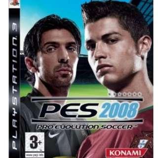 [PRE-OWNED] PS3 Pro Evolution Soccer (PES) 2008