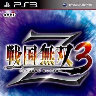 [PRE-OWNED] PS3 Sengoku Musou 3