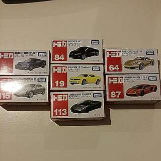 Tomica $39 For 1 (takara tomy)
