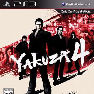 [PRE-OWNED] PS3 Yakuza 4 <RESERVED>