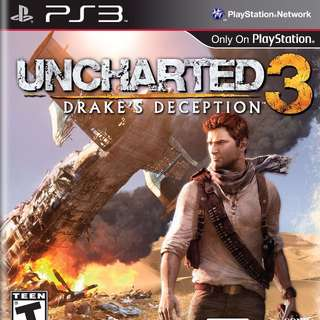 [PRE-OWNED] PS3 Uncharted 3: Drake's Deception