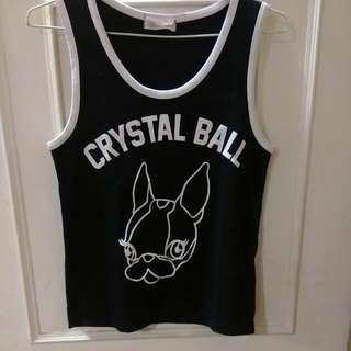 Pazzo×crystal Ball 聯名款背心