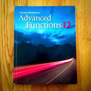 Advanced Functions 12 McGraw-Hill Ryerson
