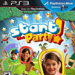 [PRE-OWNED] PS3 Start the Party