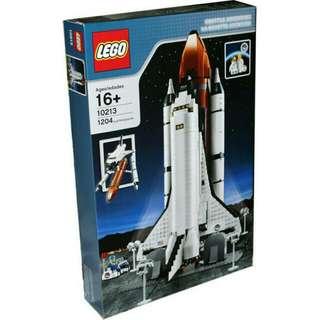Lego 10213 Shuttle Adventure + Supplementary Pack for Shuttle