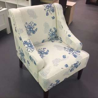 Printed Fabric Chair