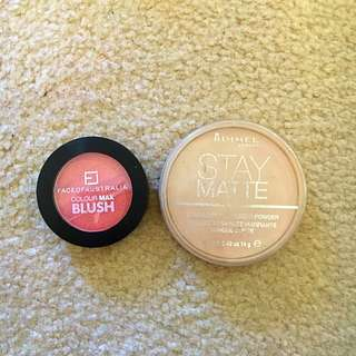 Blush And Translucent Powder