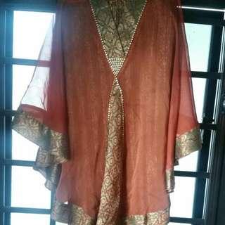 Baju Kebaya Kurung Bought At $150nett