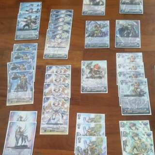 Cardfight Vanguard Gold Paladian Gurguit Deck.English Version