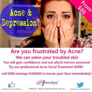 Acne/Pimple Facial Treatment in Jurong by J Studios