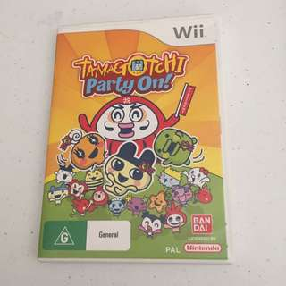 Tamagotchi Party On! Wii Game