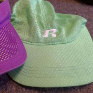 Lorna Jane Visor And Russel Athletic Hat