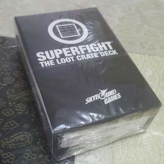 SUPERFIGHT - LOOT CRATE DECK