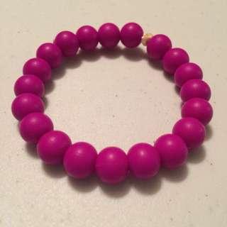 Purple Teething Bracelet