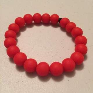 Red Teething Bracelet