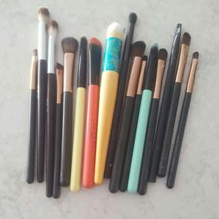 Makeup Brushes - Eye Bundle