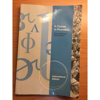 A course in phonetics 6th edition