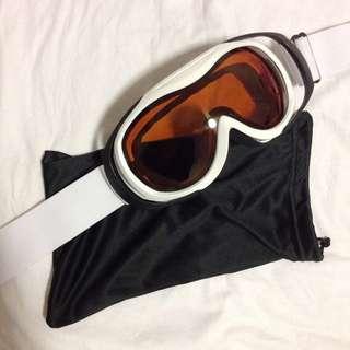 Crane - Amber Ski Goggles