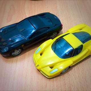 Shell Ferrari Car