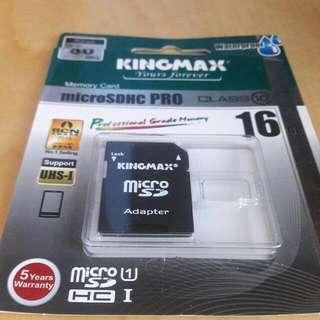 KINGMAX Computer Memory Card 16GB←原廠