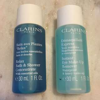 Clarins Eye Makeup Remover & Bath