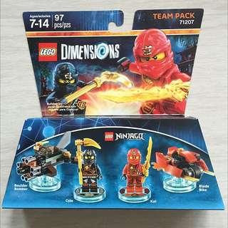 Lego Dimensions - Ninjago Team Pack 71207 (2 Sets Available)