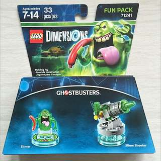 Lego Dimensions - Ghostbusters Slimer Fun Pack 71241 (only 1 Set Available)