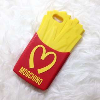 Moschino french fries case for iphone5/5s