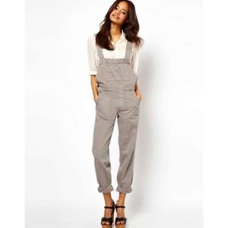 ASOS Grey Overalls Size 12
