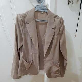 Beige Jacket Size 10