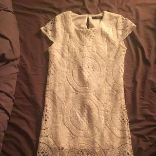 Lace Pullover Dress Size Small