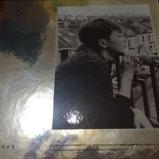 Exo Exodus中文版韓壓專輯 Xiumin封面