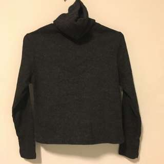 Knitted Turtle Neck Long sleeve