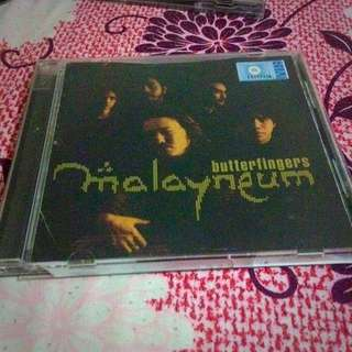 CD Album Malayneum By Butterfingers