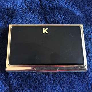 Black K Kate Spade Card Holder
