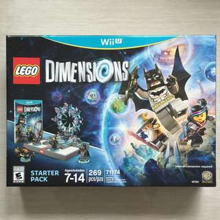 [Reserved Until 25Apr17] Lego Dimensions Starter Pack Nintendo Wii U 71174 (only 1 set available)