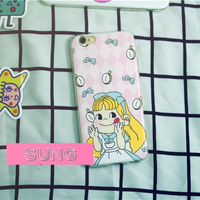 日本不二價牛奶妹愛麗絲手機保護套