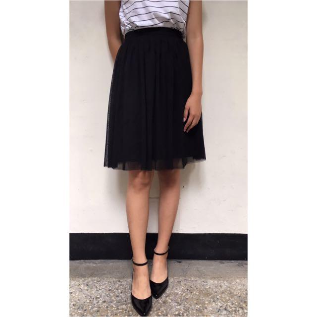 錦衣衛黑色紗裙