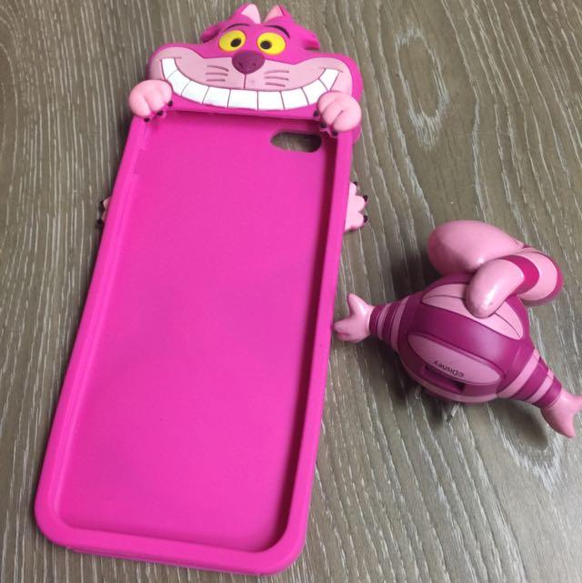 日本妙妙貓 (手機軟套+插頭)