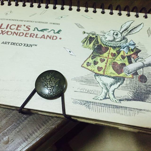 愛麗絲週行事曆 (自填日期)