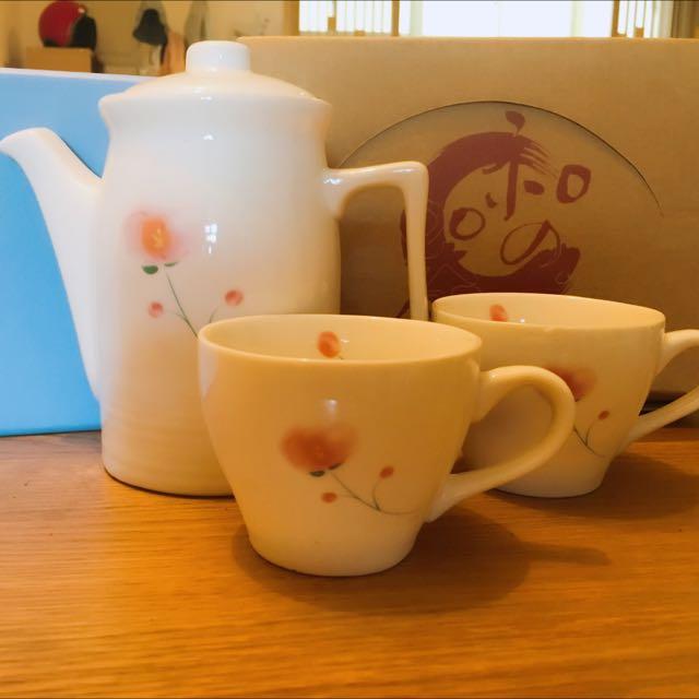 日式瓷器 下午茶組  出清價450含運
