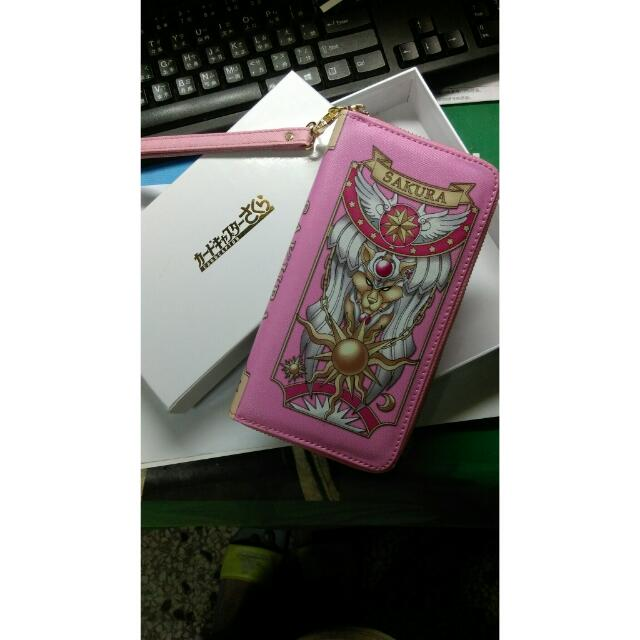 【全新現貨】庫洛魔法使錢包 長夾 小櫻牌