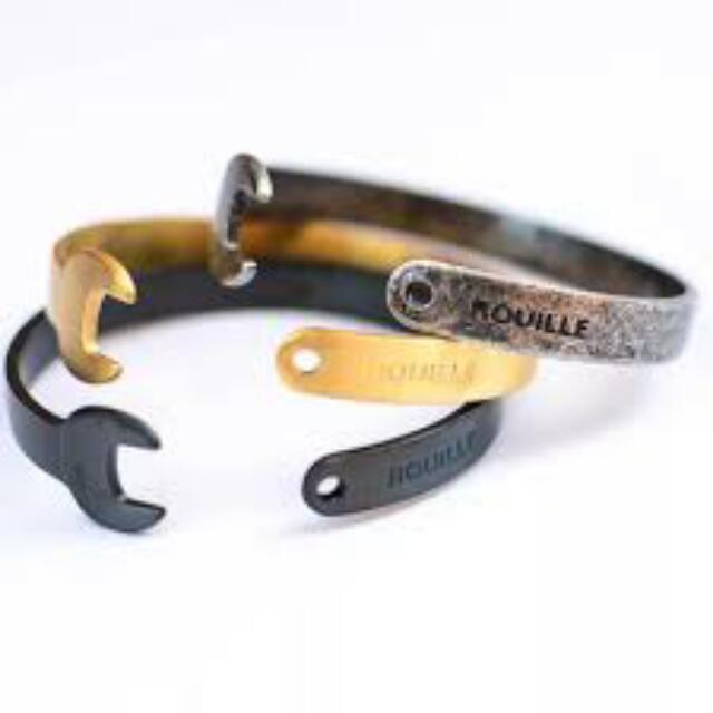 美國 潮流 ROUILLE 手環