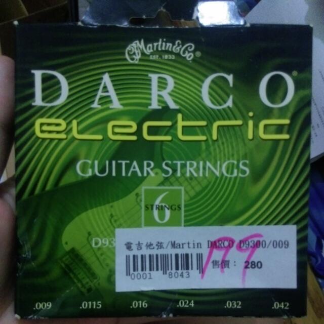 電吉他弦 Martin Darco D3000/009