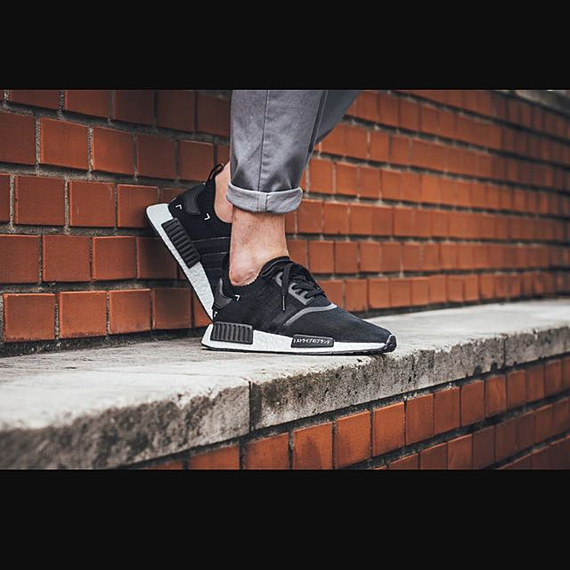 competitive price decf8 a1a69 Adidas NMD R1 PK Japan Boost Black Primeknit S81847, Sports ...