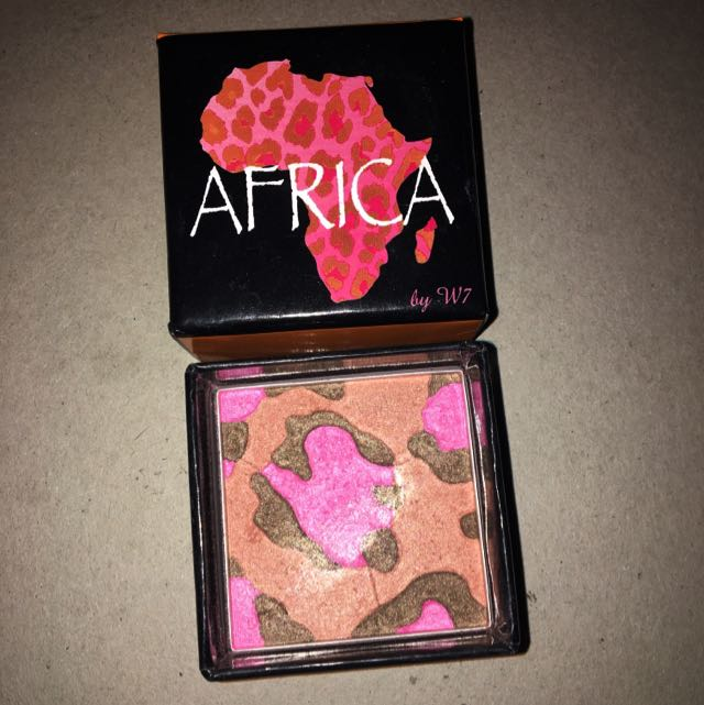 """""""Africa"""" Bronzer and Blush By W7"""