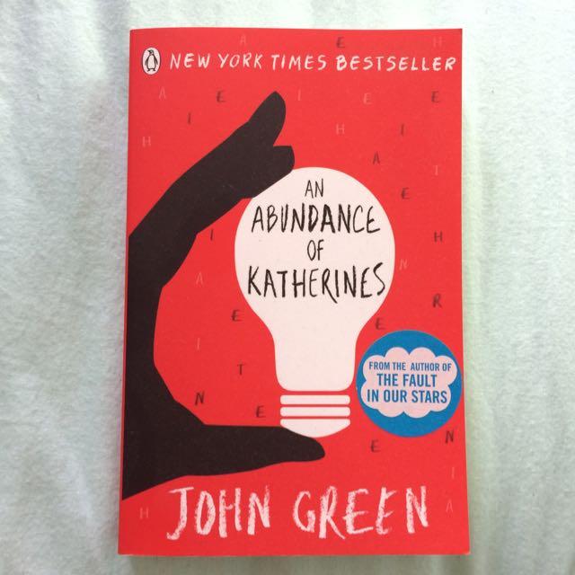 An Abundance Of Katherine's (John Green)